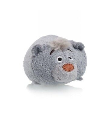 Disney Official Baloo The Jungle Book Mini Miniature Tsum Tsum Soft Toy