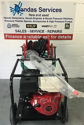 Petrol Pressure Washer - Brand New - Honda GX390 13Hp- WS201 Gearbox Interpump