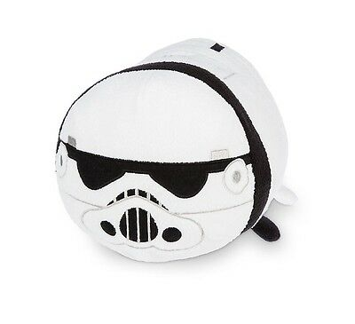 Disney Store Official Storm Trooper Star Wars Medium Tsum Tsum Soft Toy