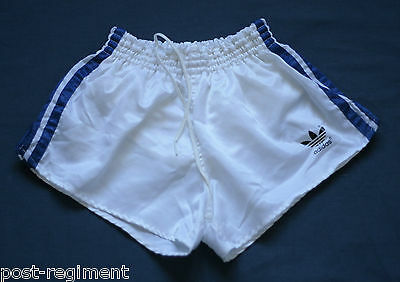 ADIDAS SHORTS Glanz Sprinter Nylon Shiny Silky D3 Retro Vintage Sporthose Gay