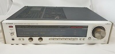 Vintage Luxman R-405 Digital Synthesized Receiver AM/FM Stereo w/ Phono - Japan