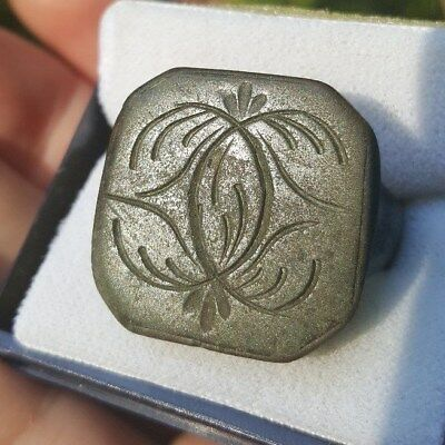 Impressive Big Ancient Roman/medieval/renaissance Bronze Ring-Wearable Men's