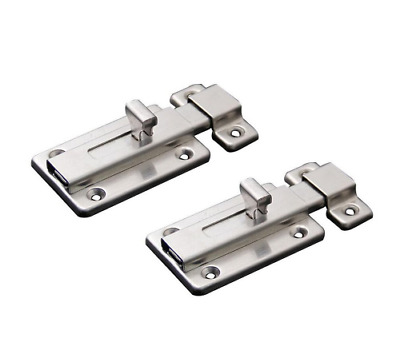NELXULAS Stainless Steel Door Latch Sliding Lock Barrel Bolt (3-1/2   sc 1 st  PicClick & NELXULAS STAINLESS STEEL Door Latch Sliding Lock Barrel Bolt (3-1/2 ...