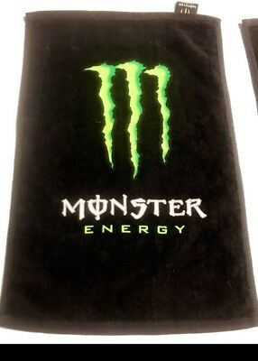 **NEW** ORIGINAL MONSTER Energy Bar Towel    Towel 100% Cotton
