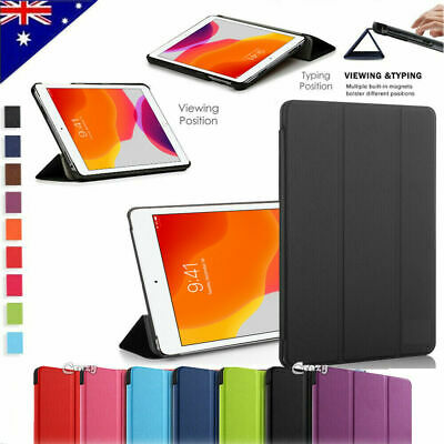 Folio Leather Smart Stand Case Cover for Samsung Galaxy Tab A 7.0 8.0 2017 10.5""