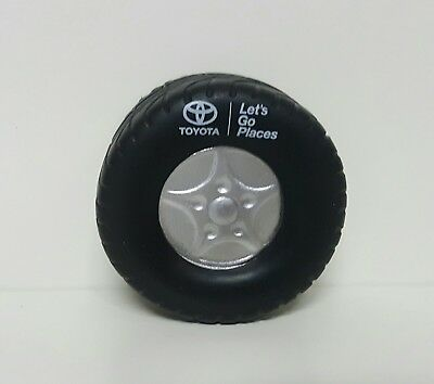 TOYOTA Stress Ball Tire Factory Promo Authentic Diameter 2.5 inches NEW