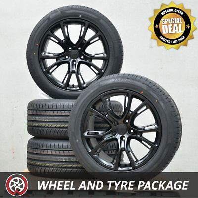20 Inch Aftermarket SPM Jeep Grand Cherokee Wheels and NEW Tyres 265/50R20