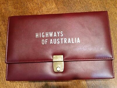 Domo & Co Map Case Highways of Australia with all Mobil Maps