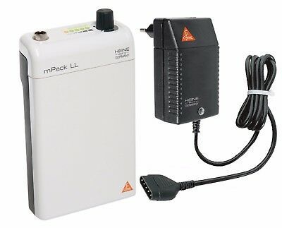 HEINE mPack LL with Li-ion rechargeable battery and plug-in transformer