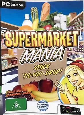 Supermarket Mania Challenging 50 Levels Stock Till You Drop Game Win 7 PC Game