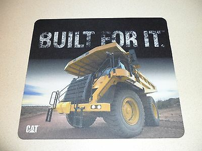 BUILT FOR IT CAT mining truck Caterpillar mouse pad new