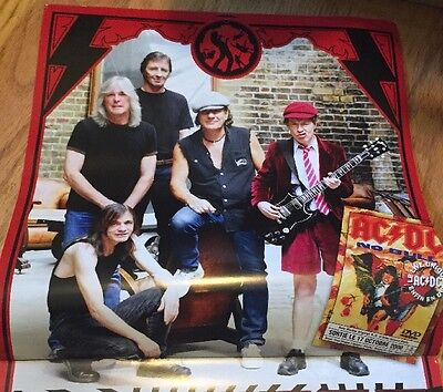 2010 AC/DC Band Wall Calendar Angus Malcolm Young Phil Rudd Brian Johnson