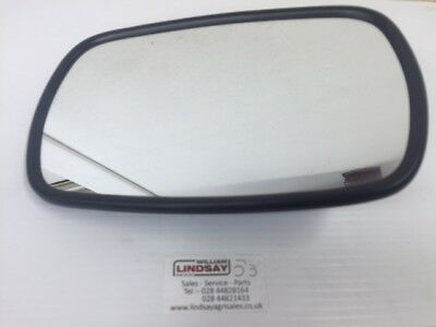 "WML Mirror Head 10"" x 6"" Universal Fitting For Tractor Forklift Truck Digger etc"