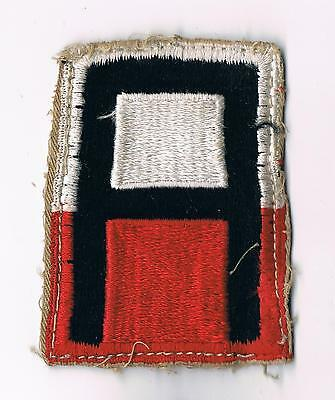 Military Lot 45> Vintage WWII 1st Army Shoulder Sleeve Patch ~ Cut from Uniform?