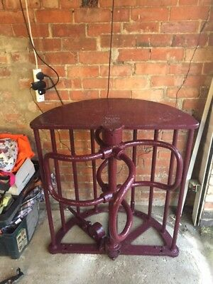 Antique / vintage Northampton Football Turnstile