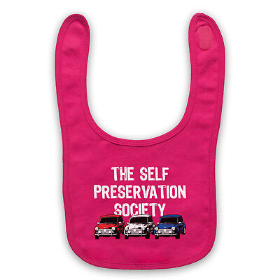 Mini Car Fan Enthusiast Self Preservation Unofficial Baby Bib Cute Baby Gift