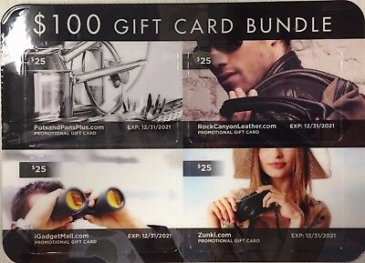 eOutlet Stores Online Shopping Gift Card Bundle $100