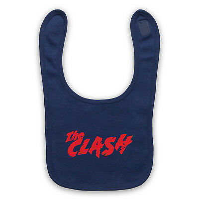 Clash Logo Unofficial The Punk Band Rock Legends Uk Baby Bib Cute Baby Gift