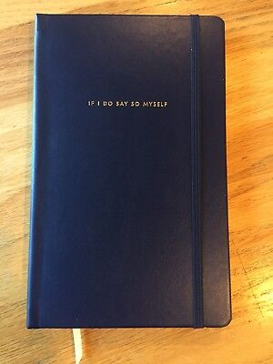 Kate Spade Take Note Navy Large Notebook *Brand New* 168 Lined $22