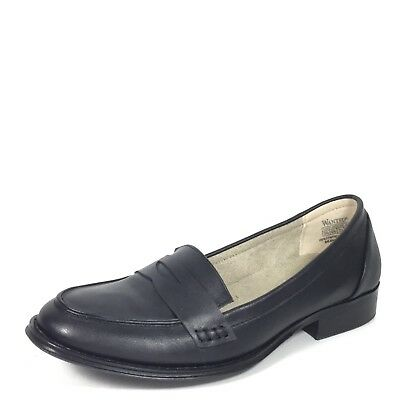 Wanted Campus Damen US 10 Schwarz Slipper Ballerinas für