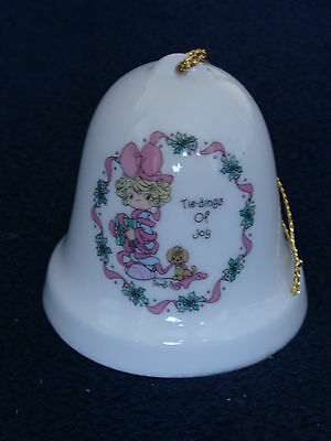 Precious Moments Bell - Tie-dings Of Joy - 1995