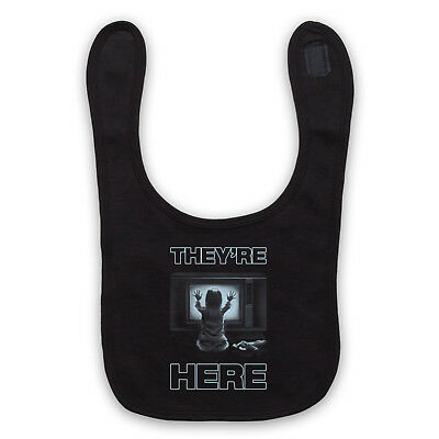 They're Here Unofficial Poltergeist Horror Film Tv Baby Bib Cute Baby Gift