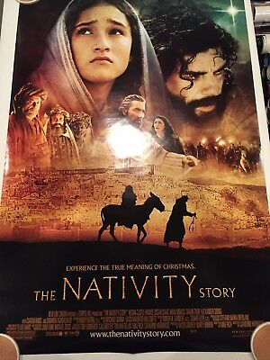 THE NATIVITY STORY Original 27 X 40 DS/Rolled Movie Poster - 2006
