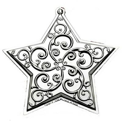 2014 Towle Silver Star Sterling Christmas Ornament 18th Edition