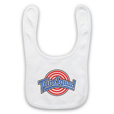 Space Jam Unofficial Tune Squad Basketball Cartoon Baby Bib Cute Baby Gift