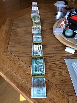 INCREDIBLE 4 to 5 FOOT SHORT SNORTER, WW2 CURRENCY ROLL !!!