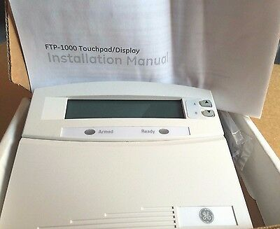 Brand New GE FTP1000 600-1020 Fixed English Alarm Keypad