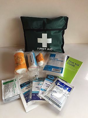 1 Person First Aid Kit - Work, Travel, Lone Worker, Security - 27 Items