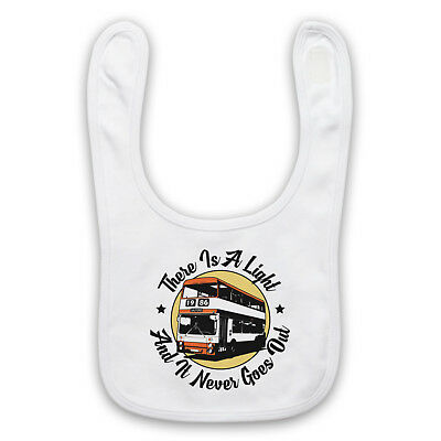 The Smiths Unofficial There Is A Light Never Goes Out Baby Bib Cute Baby Gift