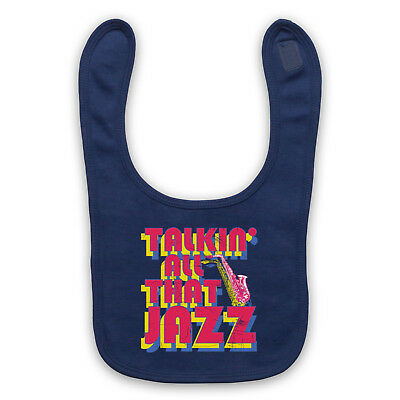 Stetsasonic Talkin' All That Jazz Unofficial Hip Hop Baby Bib Cute Baby Gift