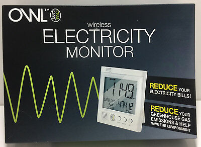 New in Box Owl Wireless Electricity Monitor CM119A