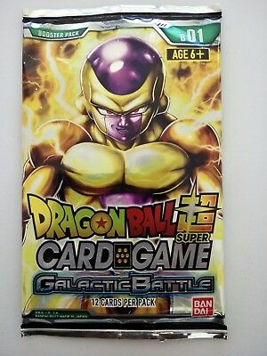 Dragon Ball Super Card Game | Galactic Battle Booster Pack - 12 Cards per Pack