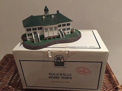 #82288 ROCKWELL BERKSHIRE PLAYHOUSE (STRUCTURE) Hometown Collection NIB