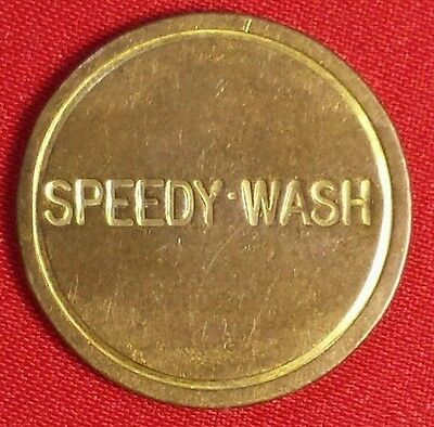 SPEEDY WASH TOKEN 23.8 mm  # 0166