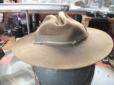 Vintage Boy Scouts of America Scoutmaster Hat Size 6 5/8