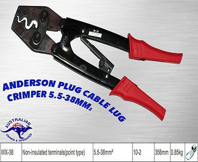 Battery Cable Lug Crimp Tool Anderson Point Type 5.5-38Mm²