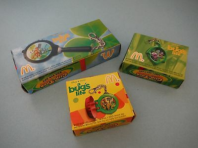 Disney - A Bug's Life - Clip-Tock Watch Collection - McDonald's Happy Meal Toys