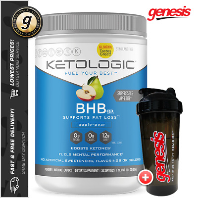BHB by KetoLogic - Beta-Hydroxybutyrate Weight Loss Energy + Free Gift!