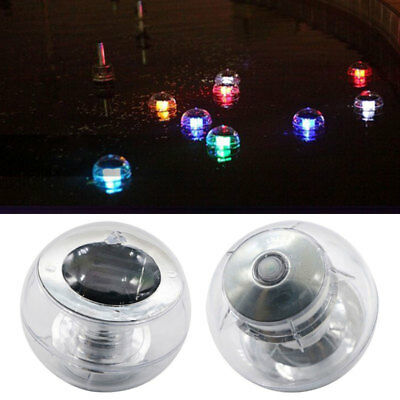 Solar 7 Color Changing LED Floating Ball Lights Pond Pool Outdoor Party