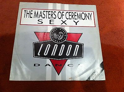 "THE MASTERS OF CEREMONY Sexy 12"" VINYL DON BARRON HIP HOP 1986"