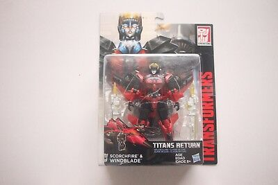 Transformers - Titans Return - Deluxe Class - Scorchfire & Windblade *NEW*