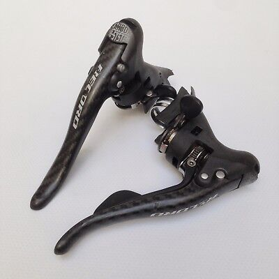 Campagnolo Record Carbon BB System Shifters 2x9 Speed Shifting Brake Levers