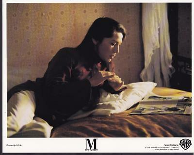 John Lone closeup in M. Butterfly 1993 vintage movie photo 23349