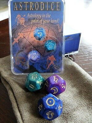 Astro Dice Astrology Dice Game Set  - Wiccan Pagan