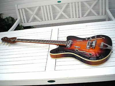 Framus TV Star Bass 5-151-52 very rare vintage Guitar 1965
