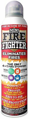 Mini Firefighter MFF01 Multi Purpose 4-in-1 Fire Extinguisher Eliminator for and